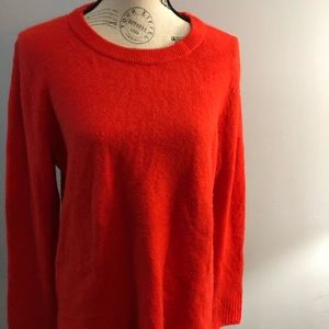 Old Navy long sleeve sweater red L